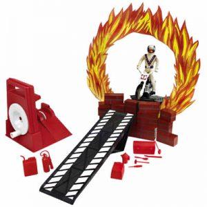 Evel Knievel Deluxe Daredevil Stunt Set