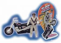 Evel Knievel Friction Powered Stunt Cycle