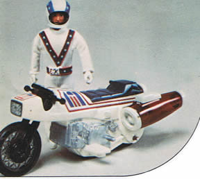 evel knievel super stunt cycle american classic toy. Black Bedroom Furniture Sets. Home Design Ideas