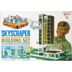 Super City Skycraper Building Set - American Classic Toy