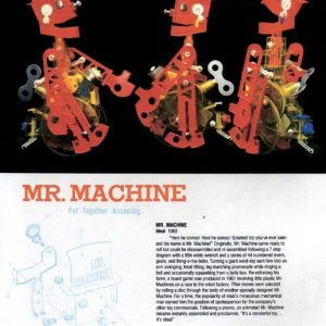Mr. Machine Book Page