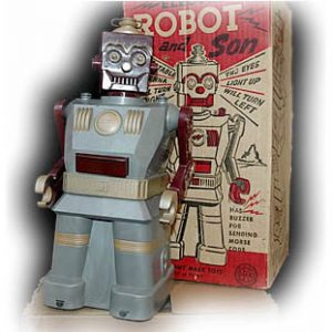 Marx Electric Robot and Son