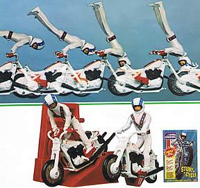 Mini Evel Knievel and Stunt Bike demo