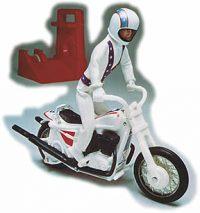 Mini Evel Knievel and Stunt Bike