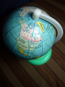 Project North America - Globe
