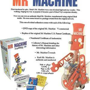Mr. Machine Catalogue