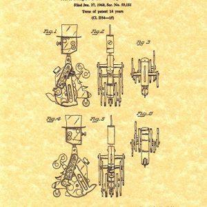 Mr. Machine Patent